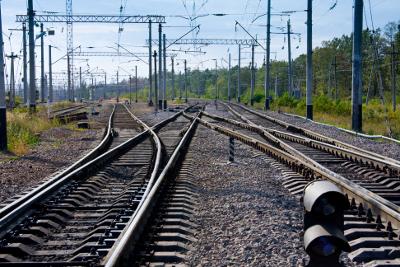 Железнодорожные пути для отстоя вагонов